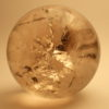 Quartz Crystal Ball - Fossils are our Future..