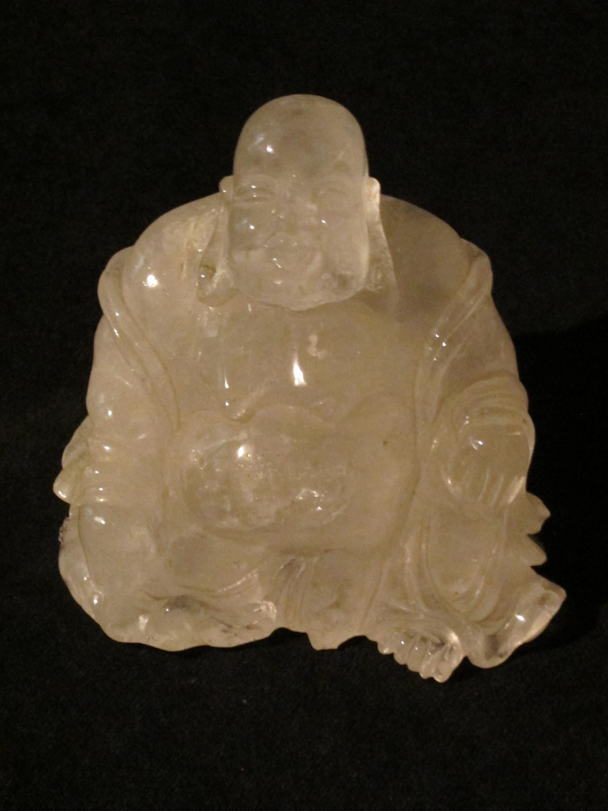Rose Quartz Buddha Fossil and Crystal shop