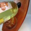wine bottle holder close up
