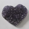 amethyst crystal heart