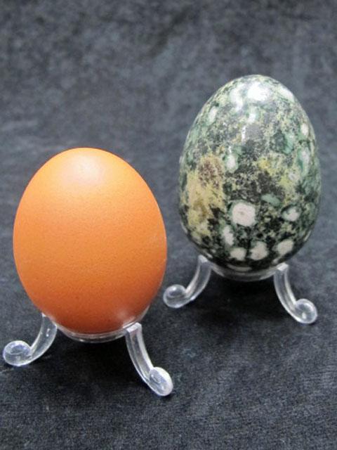 Egg made from Stonehenge Stone