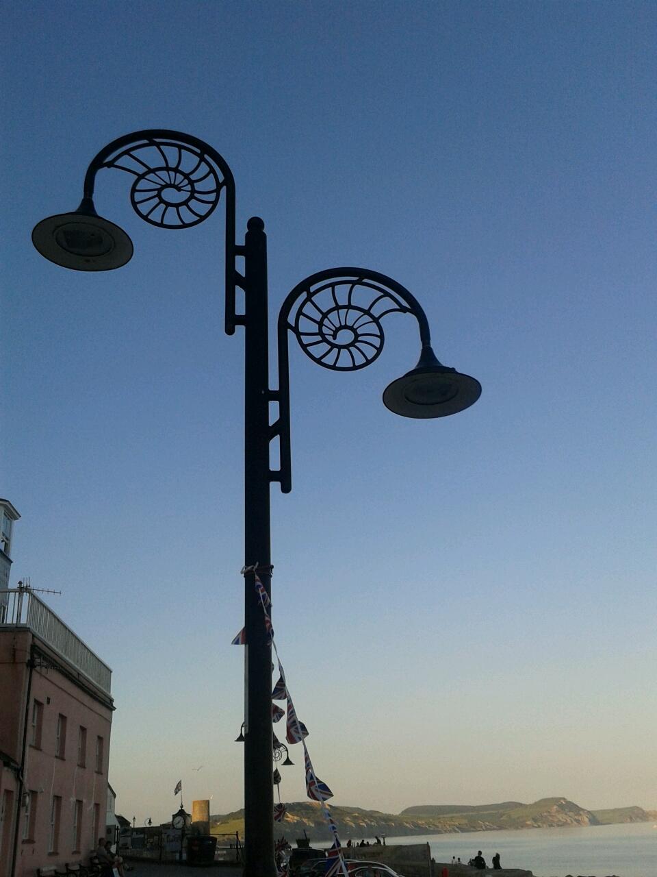 Lyme Regis Lamp Post