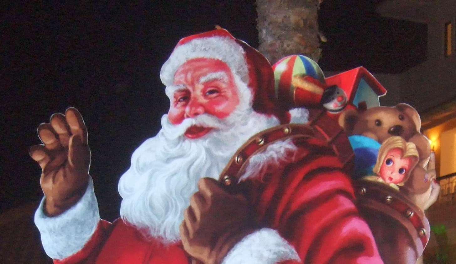Family Christmas traditions Father Christmas