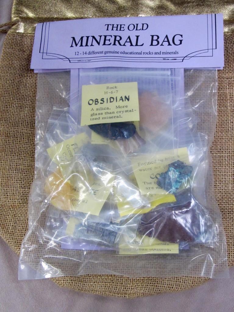 old mineral bag