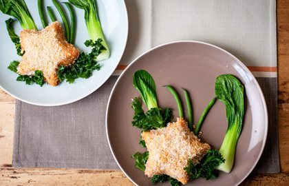 cooking with kids Star Fish Cakes: Andy Waters. Great British Chefs