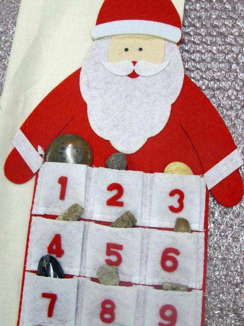 fossil advent calendar