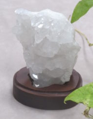 Quartz Crystal on Stand