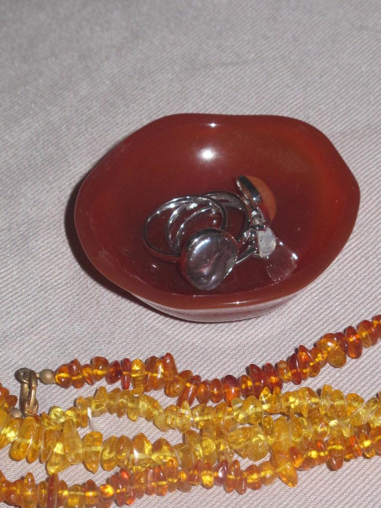 carnelian ring bowl