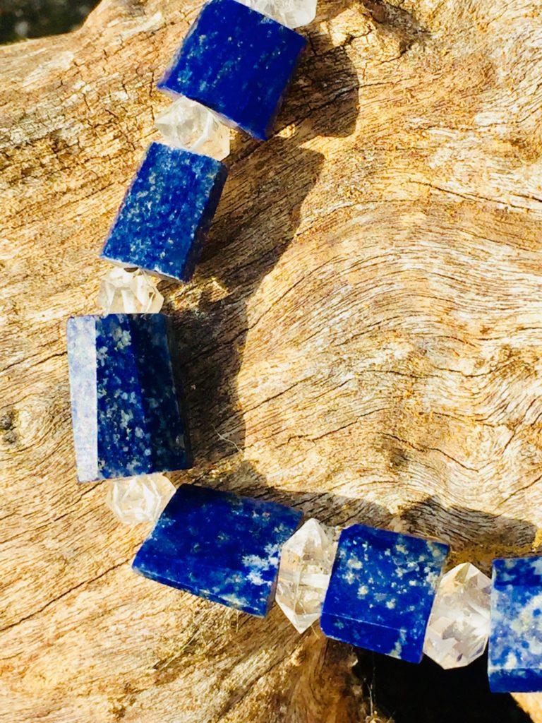 Lapis Lazuli Necklace Close Up
