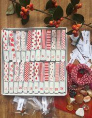 Advent Calendar with Pegs Kit