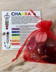 chakra set with information