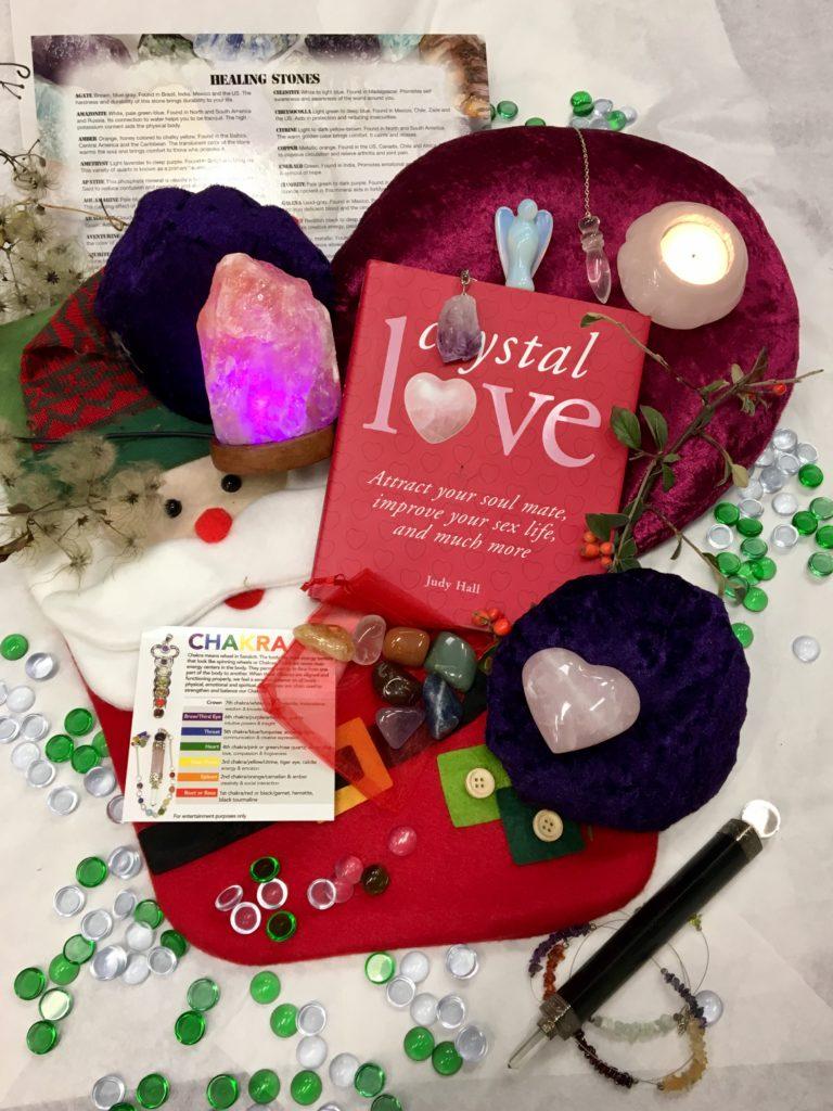 Crystal Lovers Christmas Stocking