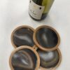 Agate Coaster Set Neutral Tones