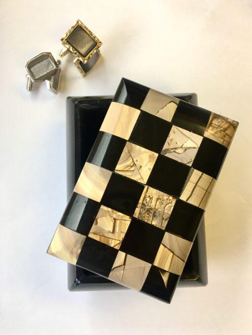 Chess Board Trinket Box
