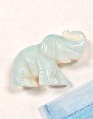 Opalite Elephant Miniature