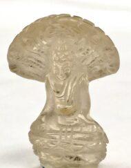 Miniature Crystal Buddha