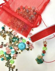 Beading Christmas Eve Bag