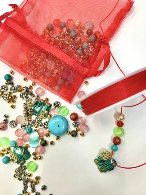 Beading Christmas Eve Bag