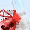 Selenite Energiser with Chakra Set