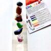 Selenite Crystal Charger Chakra Stone Set
