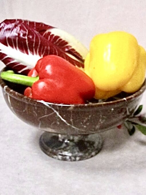 Marble Fruit Dish