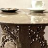 Moroccan Fossil Coffee Table Close Up
