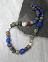 Mammoth Bone Beads and Skulls