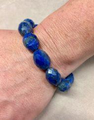 Lapis Lazuli Bracelet Facetted