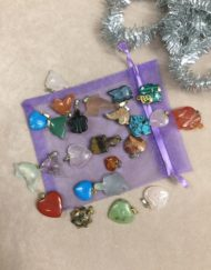 Gemstone Charms Collection with bag