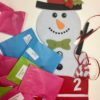 Gemstone Advent Calendar Snowman Plastic free