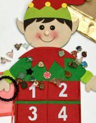 Gemstone Charms Advent Calendar Elf